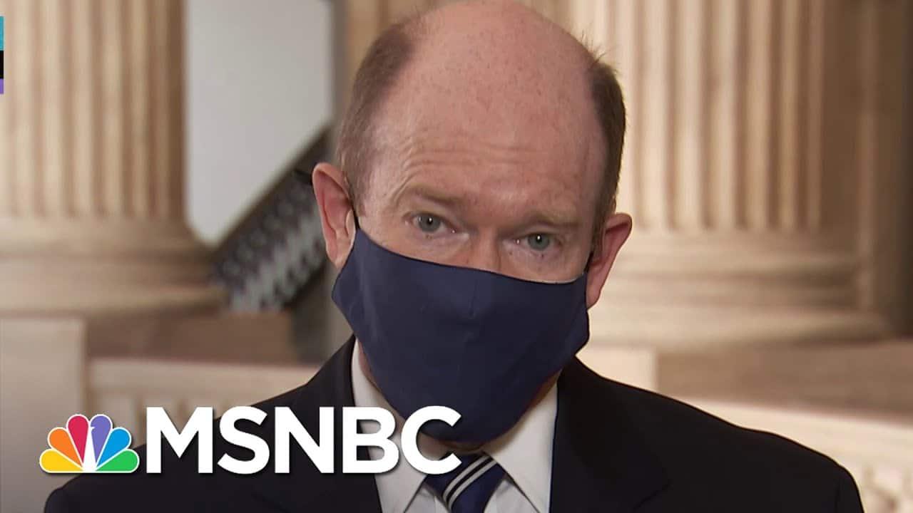 Sen. Coons Says Senate COVID Relief Vote 'Still Days Away' | MSNBC 7