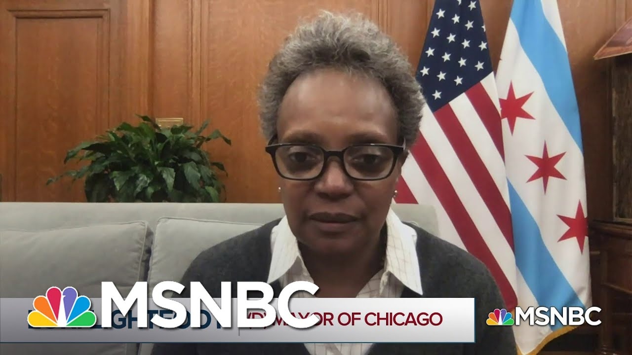 Lightfoot: 2019 Bodycam Video 'Shatters Any Confidence' Of Progress In Police Reform   MSNBC 1