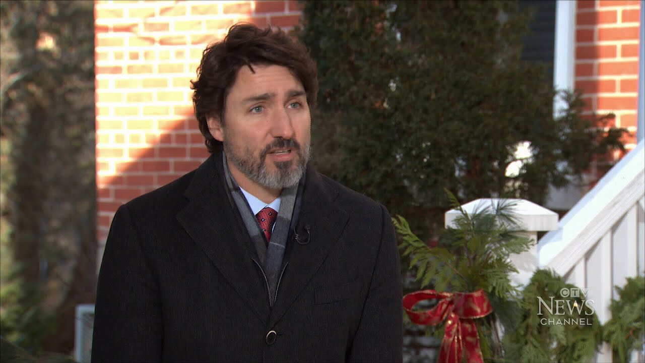 Watch the full year-end interview with Prime Minister Justin Trudeau 7