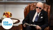 SNL debuts a new 'tumbling' Joe Biden | USA TODAY 4