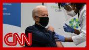 Joe Biden receives first dose of Covid-19 vaccine 2