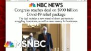 Congress Reaches Deal On $900 Billion Covid-19 Relief Package | Morning Joe | MSNBC 4