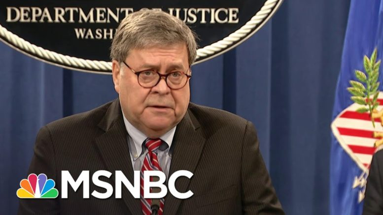 Barr Announces Charges Against Third Conspirator In 1988 Bombing Of Pan Am Flight 103 | MSNBC 1