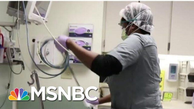 Virginia Health Care Workers Await Moderna Vaccine As Covid Cases Rise | Hallie Jackson | MSNBC 1