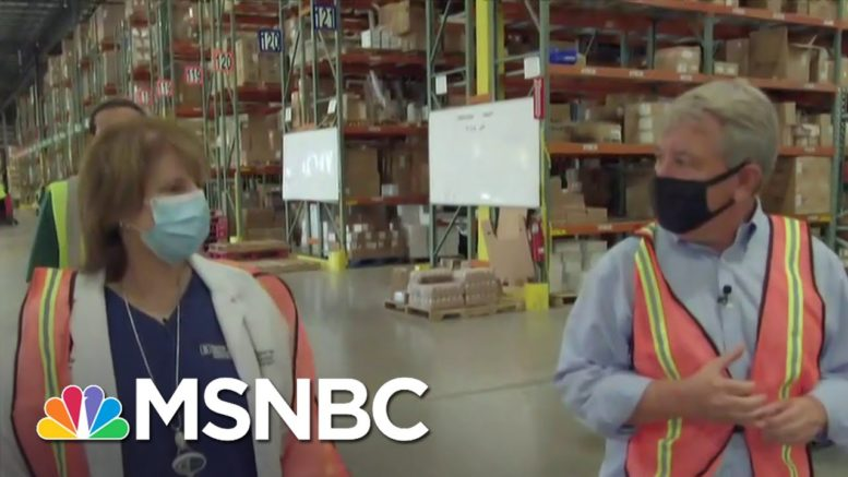 First Shipments Of Moderna Vaccines On The Move To Key Sites | MSNBC 1