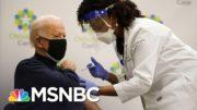 President-Elect Biden Receives Covid-19 Vaccine   MSNBC 4