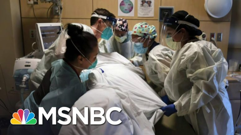 We Wanted To See 'Patients Coming First': Critical Care Nurse Shares Story   Katy Tur   MSNBC 1
