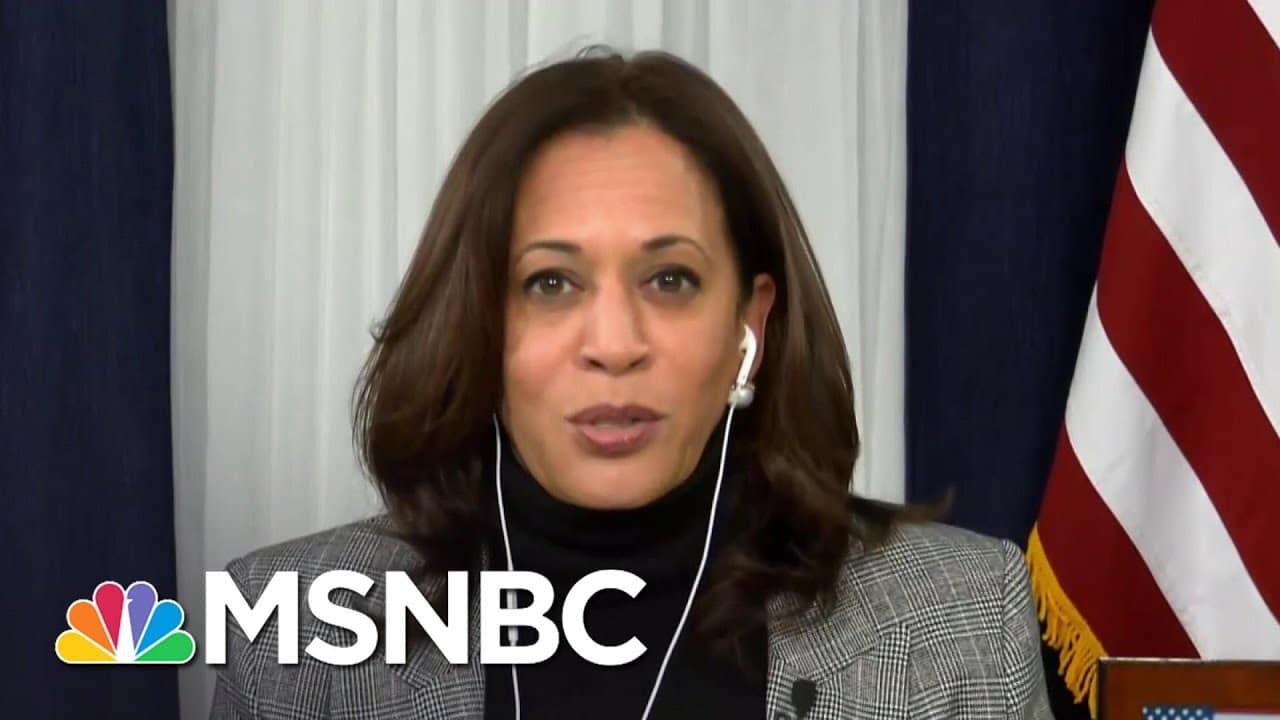 Kamala Harris On Trump's Refusal To Concede: 'We Need To Govern' | The ReidOut | MSNBC 1