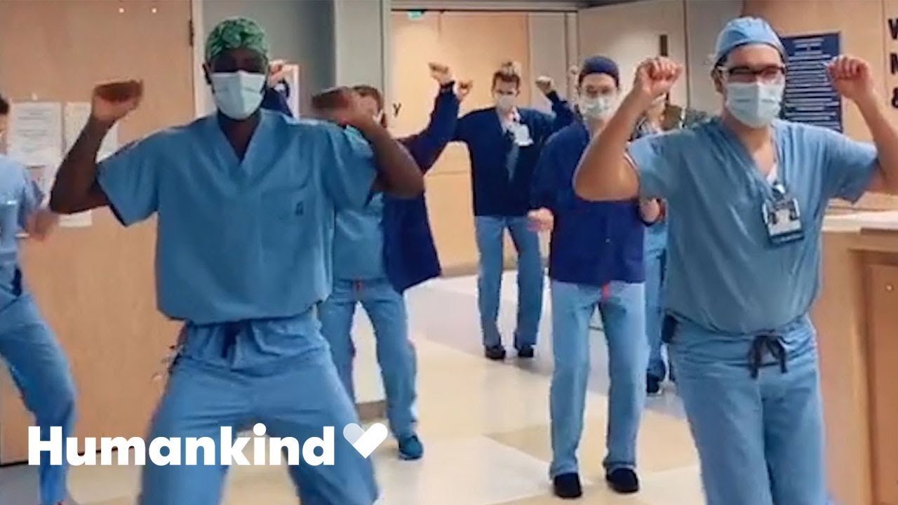 Dancing doctor spreads joy and positivity for all   Humankind 9