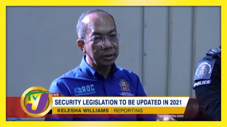 Security Legislation to be Updated in 2021 - December 20 2020 1