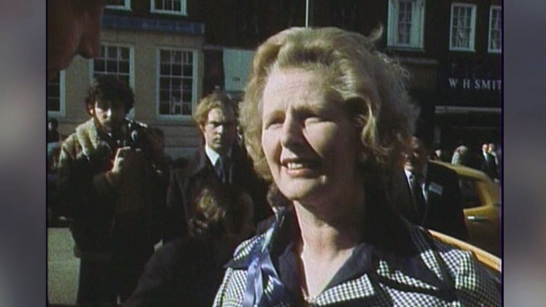 Archive: Margaret Thatcher speaks to constituents in 1976 1