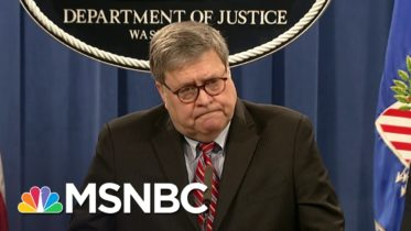Bill Barr (Finally) Breaks With Trump On His Way Out The Door | The 11th Hour | MSNBC 6