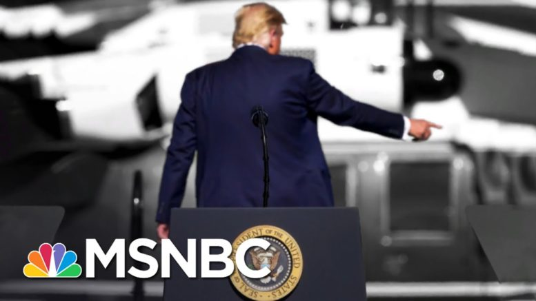 Trump Is Doing His Best To Leave A Mess For Biden To Fix | The 11th Hour | MSNBC 1