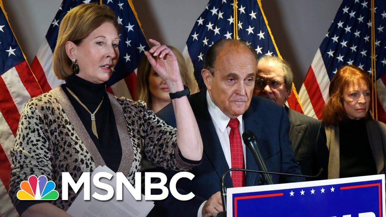Maddow: U.S. Mired In '3-Way Split Screen' Of Trump Crises | Rachel Maddow | MSNBC 3