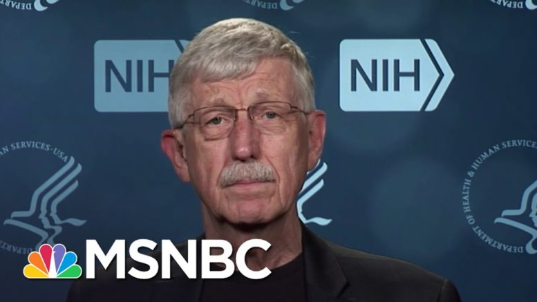 NIH Director Francis Collins Is 'Thrilled' To Receive And Provide Covid Vaccine To Americans | MSNBC 1