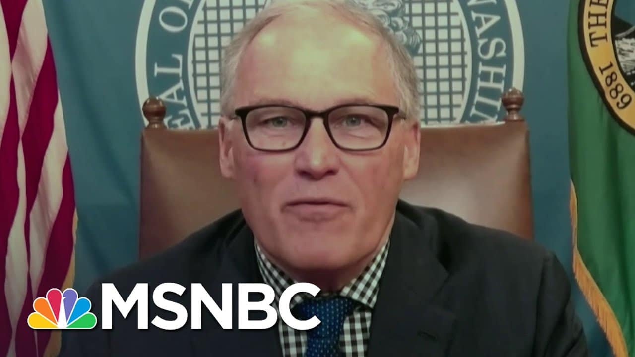 Gov. Inslee Talks Vaccine Distribution: Things Are On A Safe, Timely Track   Katy Tur   MSNBC 1