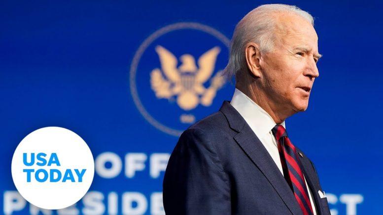 President-elect Joe Biden blames Trump Administration for cyber attack | USA TODAY 1