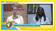 Jamaican Nurse Receives Vaccine: TVJ Smile Jamaica - December 21 2020 4