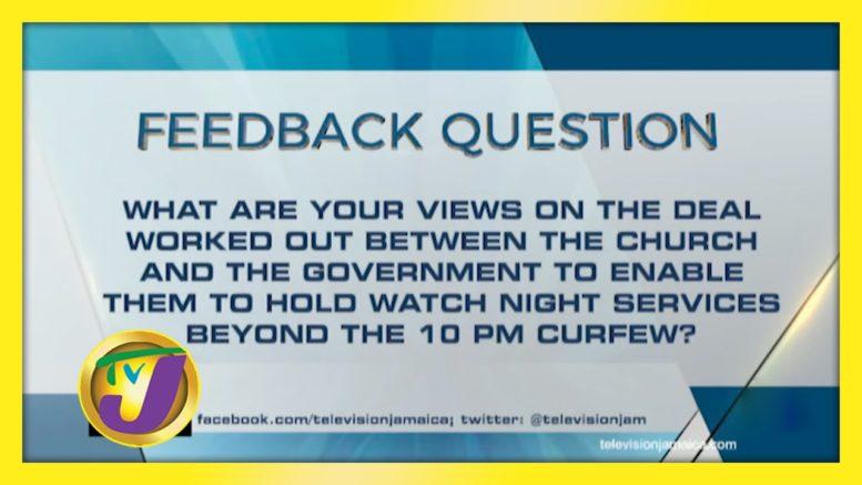 TVJ News: Feedback  Question - December 21 2020 1