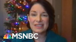 Trump 'Trying To Burn This Country Down On His Way Out': Klobuchar | Rachel Maddow | MSNBC 4
