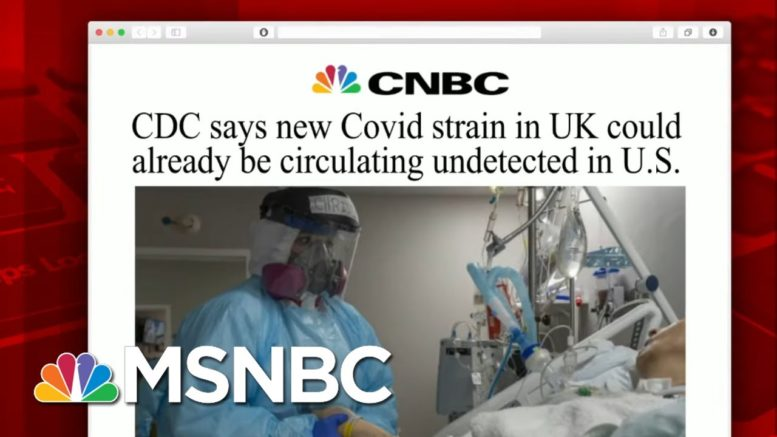 Dr. Gupta: Vaccine Will Be Effective Against New Strain Seen In UK   Morning Joe   MSNBC 1