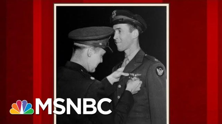 How Jimmy Stewart's WWII Experience Impacted 'It's A Wonderful Life' | Morning Joe | MSNBC 1