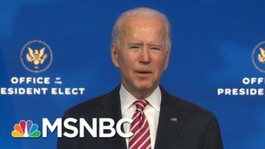 Biden Introduces Dr. Miguel Cardona As Education Secretary Nominee | MSNBC 10