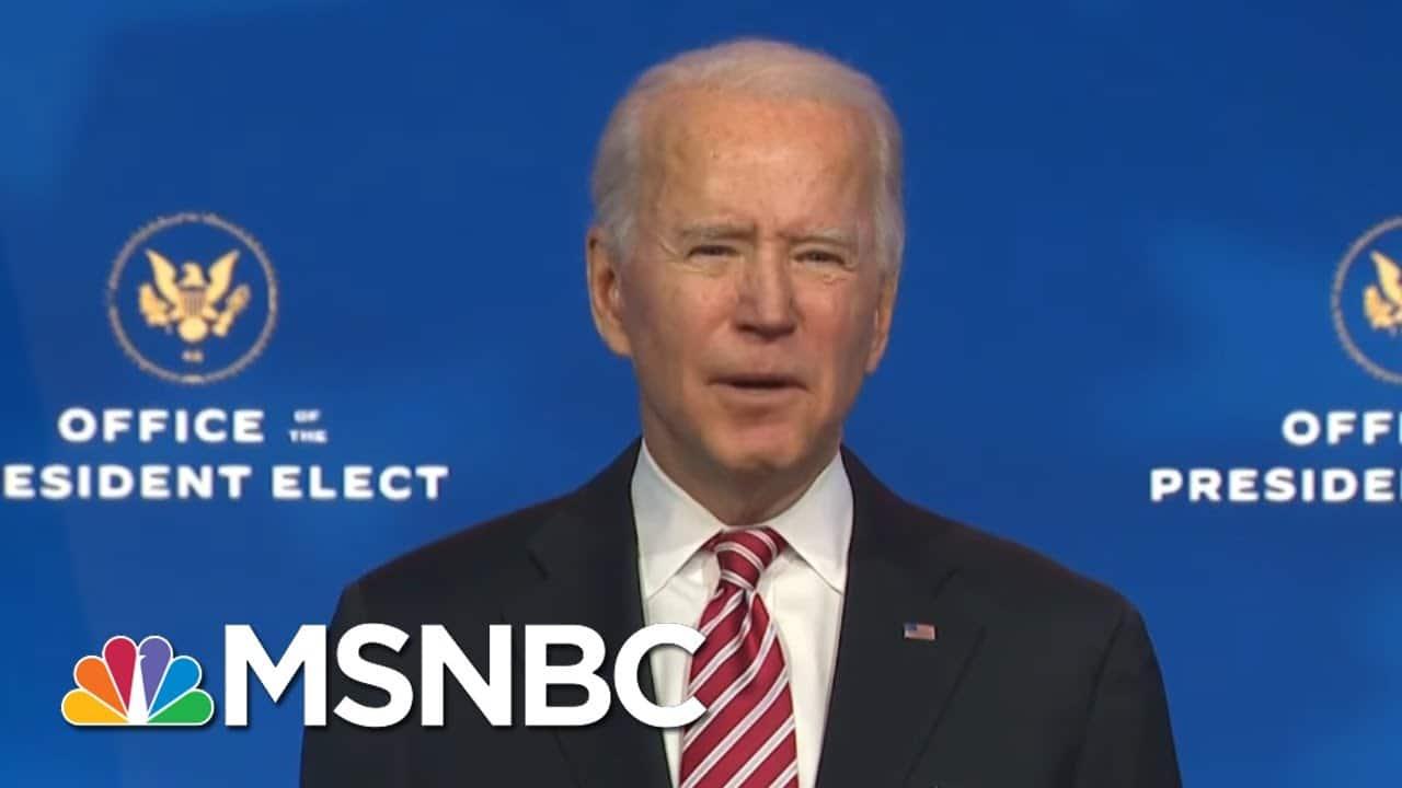 Biden Introduces Dr. Miguel Cardona As Education Secretary Nominee | MSNBC 7