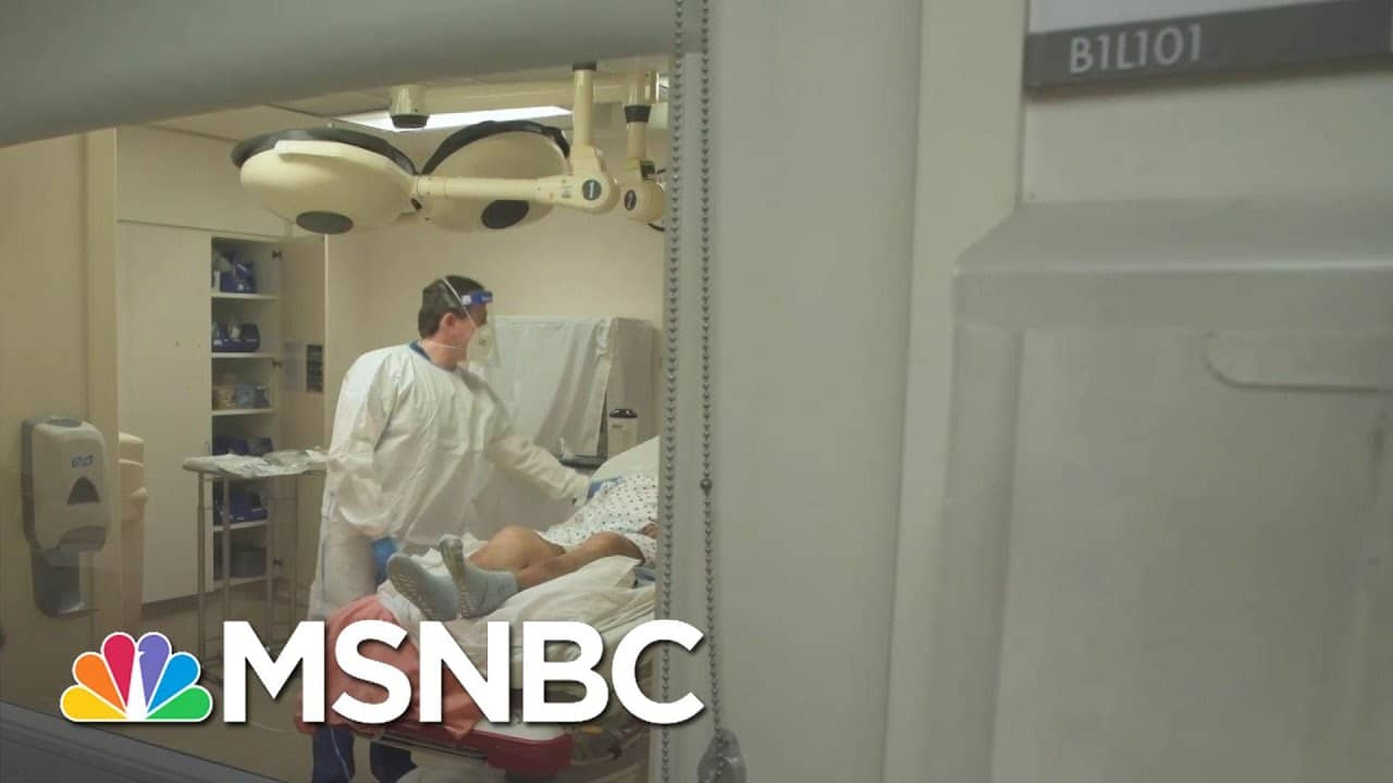Los Angeles County Hospitals Losing Control As Covid-19 Cases Rise   MSNBC 6