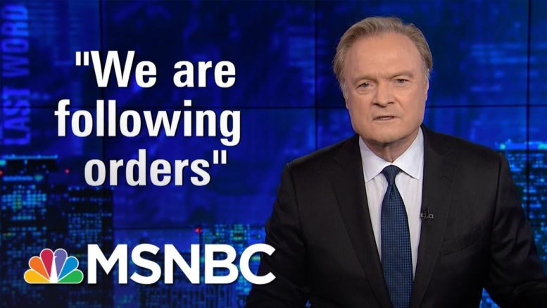 Straight to the Heart of Moral Corruption | The Last Word with Lawrence O'Donnell | MSNBC 1