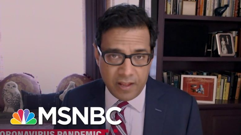 Dr. Atul Gawande: We Are Still Seeing Surge On Surge | Ayman Mohyeldin | MSNBC 1