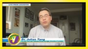 Dr. Julian Tang Speaking on UK New Covid Strain: TVJ Smile Jamaica - December 22 2020 4