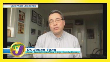 Dr. Julian Tang Speaking on UK New Covid Strain: TVJ Smile Jamaica - December 22 2020 6