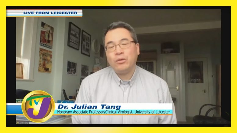 Dr. Julian Tang Speaking on UK New Covid Strain: TVJ Smile Jamaica - December 22 2020 1
