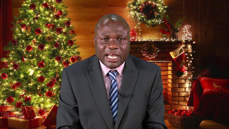 2020 CHRISTMAS MESSAGE - HON. KENT EDWARDS 1