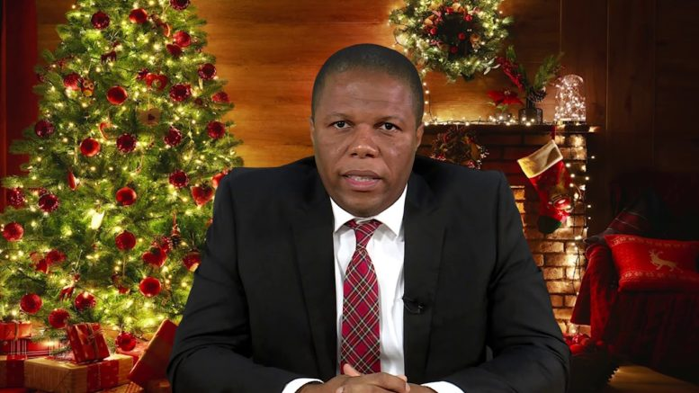 2020 CHRISTMAS MESSAGE - HON. FIDEL GRANT 1