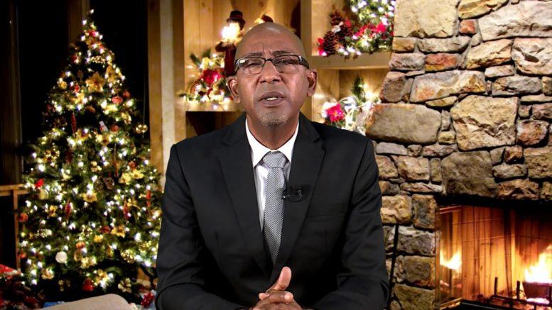 2020 CHRISTMAS MESSAGE - HON. DR. IRVING MCINTYRE 1
