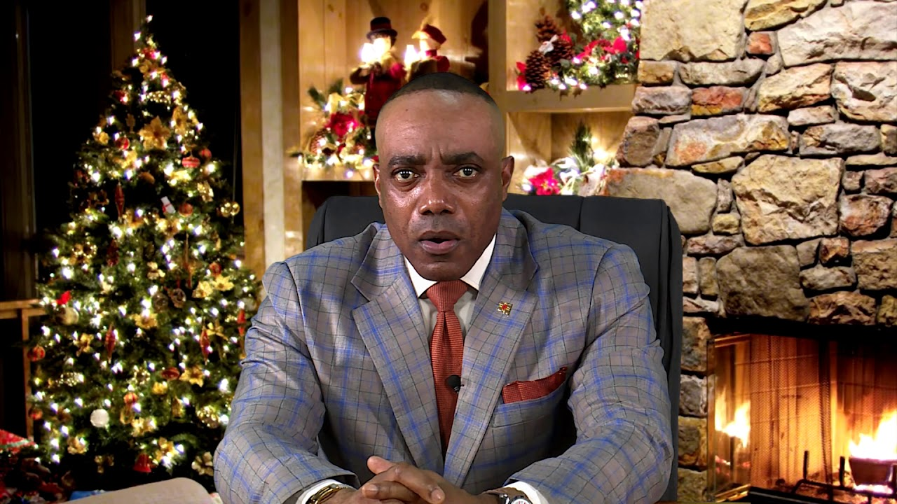 2020 CHRISTMAS MESSAGE - HON. RAYBURN BLACKMOORE 5