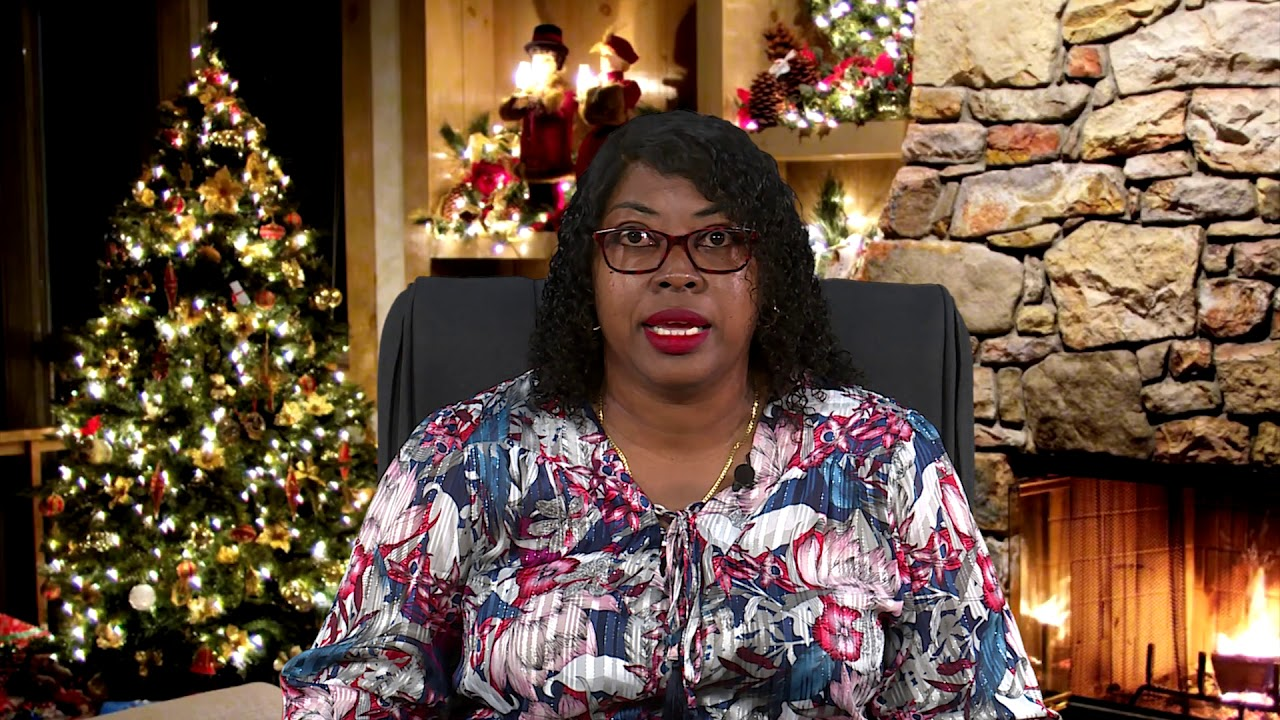 2020 CHRISTMAS MESSAGE - HON. CHERKIRA LOCKHART HYPOLITE 1