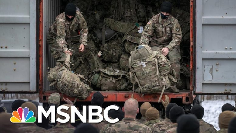 Trump Defunds Military Even As He Muses About Martial Law And Rattles U.S. Saber   Rachel Maddow 1