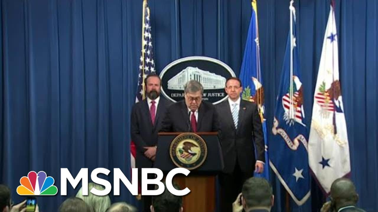 'A Fool': MAGA Fans Turn On Barr After Debunking Trump's Fraud | The Beat With Ari Melber | MSNBC 1