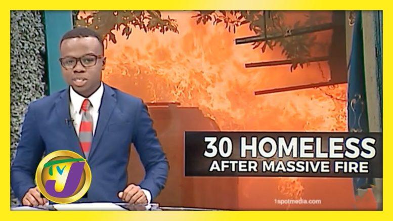 30 Homeless After Massive Fire - December 23 2020 1
