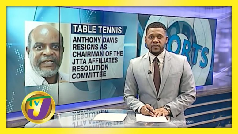 Davis Resigns as Chairman of the JTTA Affiliates Resolution Comm. - December 23 2020 1