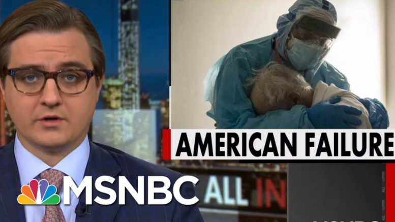 Chris Hayes: We Failed To Protect The Most Vulnerable Americans From Covid | All In | MSNBC 1