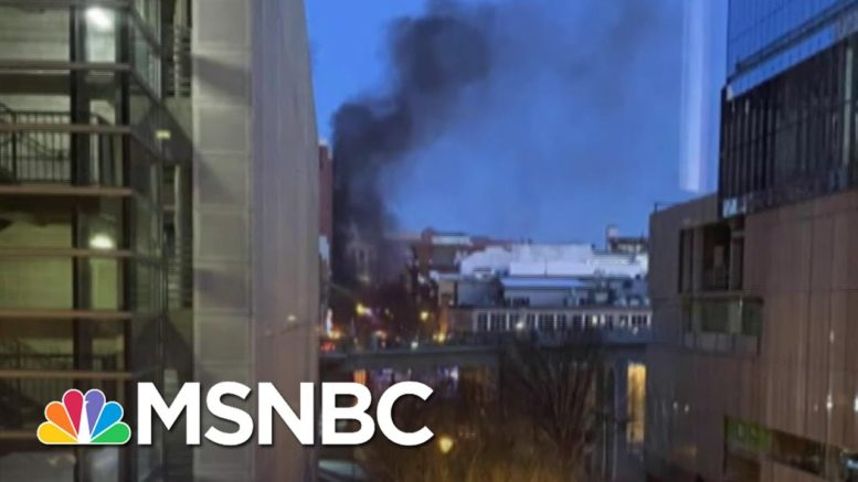 Massive Vehicle Explosion In Downtown Nashville Believed To Be Intentional   Craig Melvin   MSNBC 1