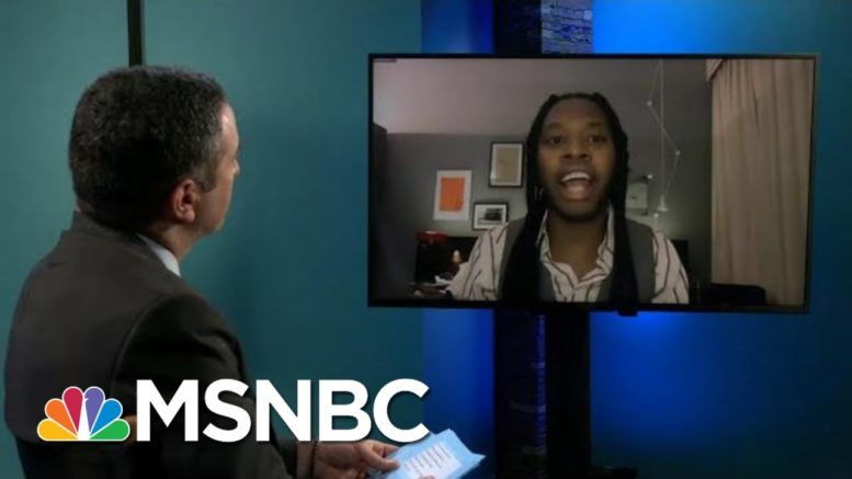 Actor Jeremy O. Harris On Quarantine Creativity And Finding Unlikely Inspiration In Trump   MSNBC 1