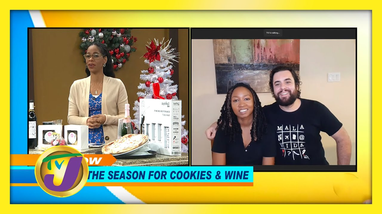 Tis the Season for Cookies & Wine: TVJ Smile Jamaica - December 1 2020 1