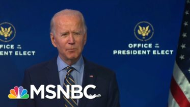 President-Elect Biden: He's Ready For The Punches Republicans Will Throw His Way | Deadline | MSNBC 6