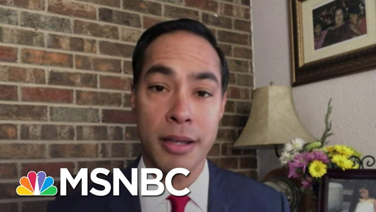 Julian Castro: 'What I Saw Above Everything Else Was Real Enthusiasm' | Deadline | MSNBC 4