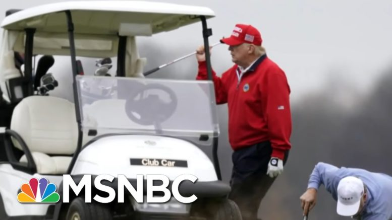 'Antoinette Has Nothing On This Guy:' Trump's 'Cruel' Delay In Signing Relief Bill | All In | MSNBC 1